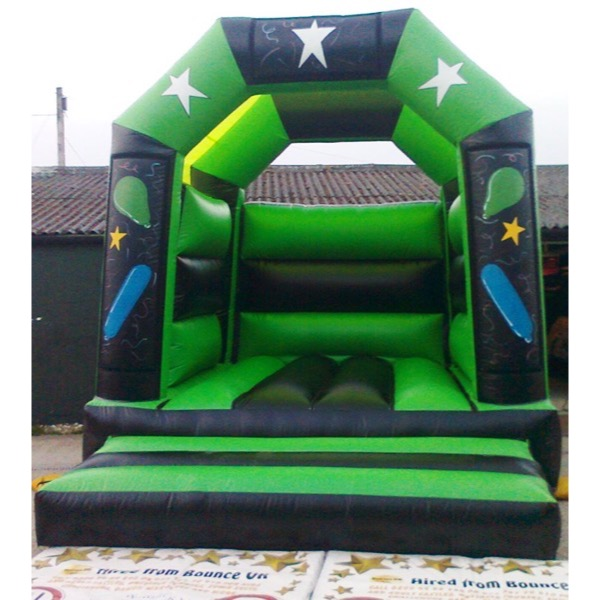 Adult party black green 12x15 2